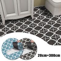 Self Adhesive Tile Floor Wall Sticker Paper DIY Home Kitchen Room Decor Vinyl