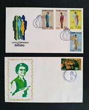 THAILAND  1972  2 FDC