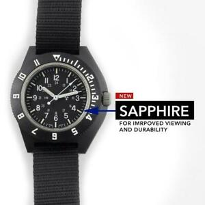US Military Pilot Navigator Aviation Sterile Watch Marathon: Sapphire Crystal