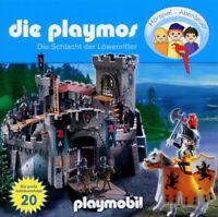 DIE PLAYMOS - 20: DIE GROßE SCHLACHT DER LÖWENRITTER  CD NEW