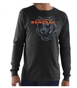 Cincinnati Bengals Men's Elite Reflective Long Sleeve Shirt - Black