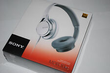 SONY MDR-10RC WHITE Overhead Lightweight Portable Stereo Folding Headphones /NEW