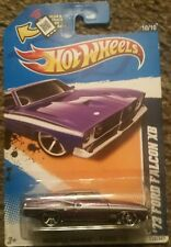 2012 Hot Wheels '73 Ford Falcon XB #120/247 Purple  Body W/White Stripe