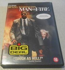 DVD / MAN ON FIRE avec DANZEL WASHINGTON