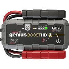 NOCO GB70 Genius Boost HD 2000 Amp 12V Gas/Diesel UltraSafe Lithium Jump Starter