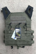 MODI (FLYYE) JPC Swift Tactical Plate Carrier - Fabric Webbing- Ranger Green