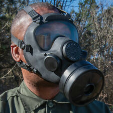 Real Polish Military Full Gas Mask Filter Chemical Nuclear Biological Warfare