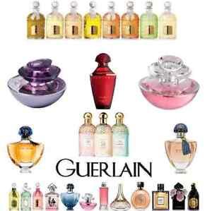 Guerlain Various Name authentic Samples Size Original EDP EDT Perfume Fragrance