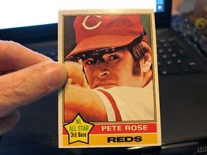 Pete Rose 1976 OPC O-Pee-Chee #240 BEAUTIFUL CARD