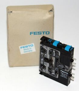 FESTO MSZC-3-21 DC SOLENOID VALVE 0.46W (384 163) D IP00/65