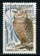 STAMP / TIMBRE FRANCE OBLITERE N° 1694 / FAUNE / GRAND DUC
