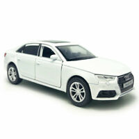 Audi A4 1:32 Scale Model Car Diecast Vehicle Toy Kids Collection Gift White