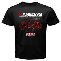 New Japan Anime Manga Akira Shotaro Kaneda Custom Motorcycle Japan movie T-shirt