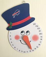 Buffalo Bills NFL Muro Porta pupazzo di neve calendario Avvento Natale Conto Alla Rovescia