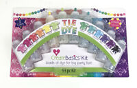 Create Basics 93pc Tie Dye Kit 20 Bottle Party Pack 12 Colors NEW Sealed Fun