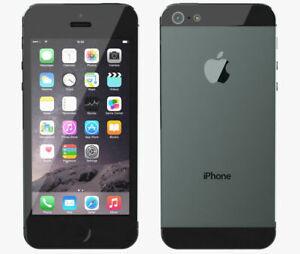 Apple iPhone 5 - 64GB - Black & Slate (Sprint) A1429 (CDMA + GSM) Unlocked