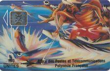 TELECARTE POLYNESIE PF14a SC4 Glaçée lot 00235