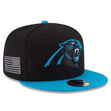 Carolina Panthers New Era MADE IN AMERICA 9Fifty Snapback Hat - Black