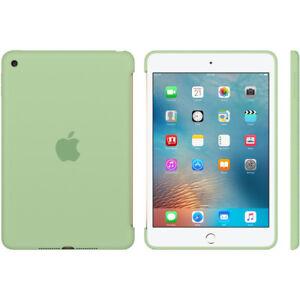 Genuine Original Apple Silicone Case for iPad Mini 4 - Mint Green RRP £59