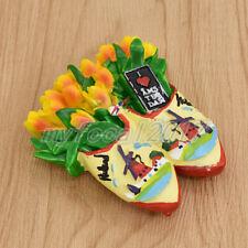 Amsterdam Tulip Resin 3D Refrigerator Magnets Sticker Travel Souvenir Gift 1pc