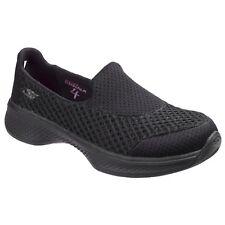 Skechers Boys & Girls Go Walk 4 Kindle Breathable Slip-on Shoes UK 12 Kids