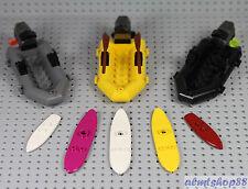 LEGO - 8 pcs Water Sports Gear Equipment Surfboard Raft Motor Boat Vehicle Wind