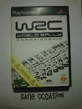 WRC WORLD RALLY CAMPIONATO PS2 PLAYSTATION 2 SONY COMPLETO PAL