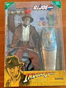 "Hasbro GI Joe 12"" Indiana Jones Ethnic Epic Stunt Spectacular Disney Exclusive"