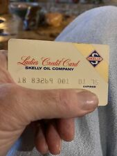 Vintage 1975 Ladies Skelly Oil Company Gas/Station/Service Charge Credit Card
