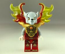 Lego Mini Figure legends of chima worriz with fire wings and armour