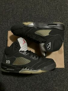 Air Jordan 5 Black Metallic 2011 Sz 10.5