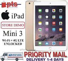 🔥 NEW! Apple iPad mini 3 16GB, Wi-Fi + Cellular (Unlocked), Retina 7.9in - Gold