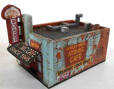 Downtown Deco HO Scale Atomic Cafe Brand New Kit! Amazing graphics + bonus signs