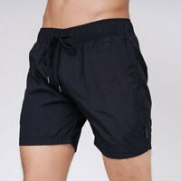 Crosshatch Pedro Men's Black Sport Swimwear Shorts Summer Pool Swimming Trunks