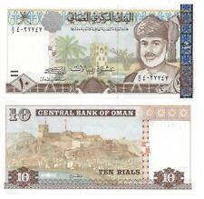 Oman 10 Organismos 2000 UNC P 40