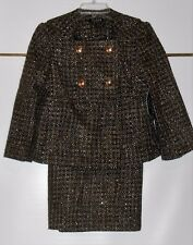 Chaus Ladies Dressy Two (2) Piece Skirt Suit Four (4) NWT MRP $208.00