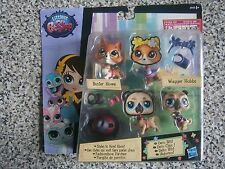 Littlest Pet Shop Deco Bits BUSTER HOWE #3770 and #3769 WAGGER HOBS set - New
