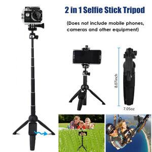 Handheld Bluetooth Tripod Monopod Selfie Stick Universal Fits All iPhone Series