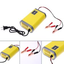 Car Battery Rechargeable Charger Portable Adapter Jump Starter Acid Power Supply