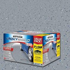 Garage Floor Coating 2 Gal Epoxy Flooring Paint High Gloss Gray Concrete Cement