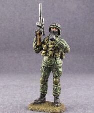 1/32 Figure Painted Toy Soldiers Russian Commando Special Forces Warrior 54mm