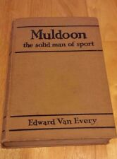 MULDOON THE SOLID MAN OF SPORT by Edward VanEvery