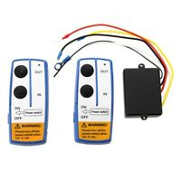 SET 2 TELECOMANDO WIRELESS PER VERRICELLO ELETTRICO 12V Z4F2
