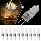 10X G9 G4 Warm White Halogen Capsule Light Bulb Lamp Frosted 10W/20W/25W/40W
