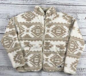 The North Face Campshire Aztec Navajo Tribal Full Zip Fleece Jacket XL / S