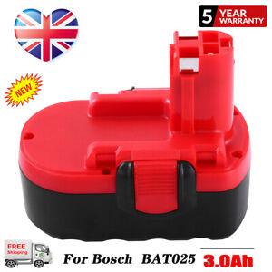For Bosch 18V 3.0Ah Ni-MH Battery BAT025 BAT180 2607335277 BAT189 BAT026 PSR NEW