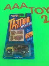 Hot Wheels Tattoo Machine Open Wide Van Maroon MOC  1993