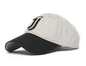 "Juventus FC ""Club"" cap hat, gray/black"