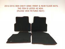 2012 2013 2014 2015 2016 oem chevy sonic floor mats 42396423