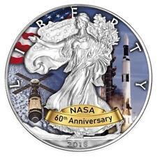 USA - 1 Dollar 2018 - Silver Eagle - Skylab 60 Jahre NASA (3.) - 1 Oz Silber ST